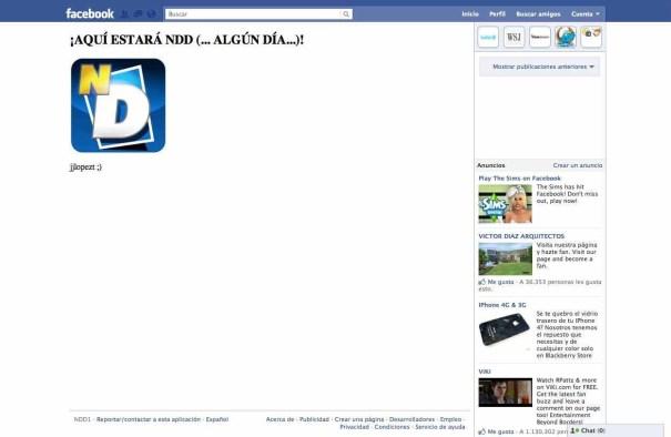 Mi primera aplicación en Facebook