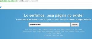 La cuenta de Twitter de la exmandataria fue eliminada.